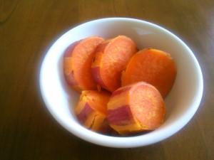 ほくほくのサツマイモで・・