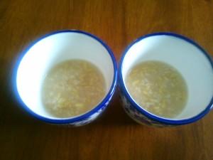 玄米ご飯で玄米甘酒