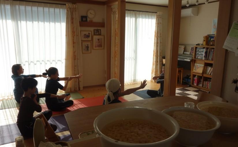 コラボレーションの意味(11/11ヨーガと味噌づくりの会開催レポ♪)