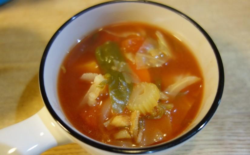 腸の救世主☆毒出し野菜スープ
